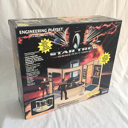 star trek, star trek engineering playset, Pee Wee Herman, collectibles toys, batman, star wars, simpsons, super heroes, weir