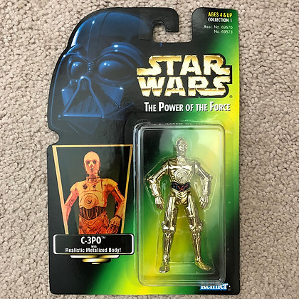 Star Wars - POTF - 1997 Kenner -C3PO - MIP