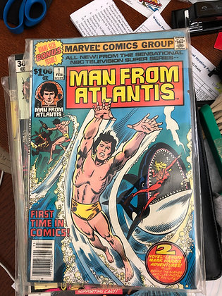 Man from Atlantic - Marvel - 1978