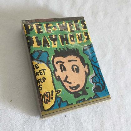 Pee Wee Herman 1988 Topps Card, Pee Wee Herman, collectibles toys, batman, star wars, star trek, simpsons, super heroes, wei
