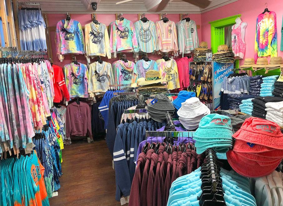 Beach Wear Gift Shop On Siesta Key