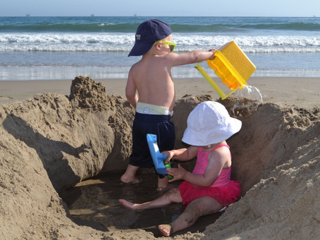 This Simple Beach Game Keeps Our Kids Entertained For Hours