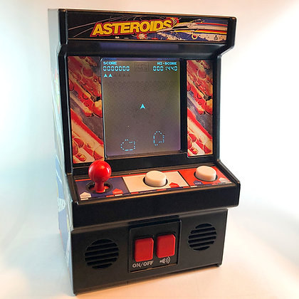 Asteroids Mini Arcade Game - WORKS!   (see video)