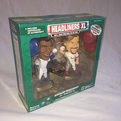 baseball collectibles, mcgwire, sosa, toys, pee wee herman, star wars, star trek, simpsons, super heroes, weird toys