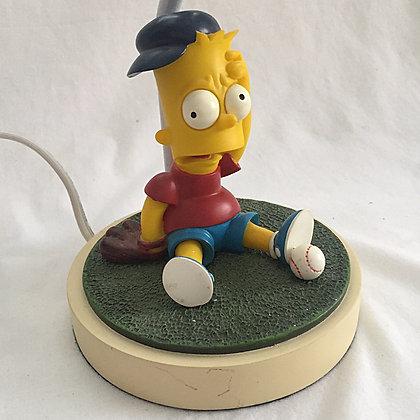 Simpsons Bart Baseball Lamp