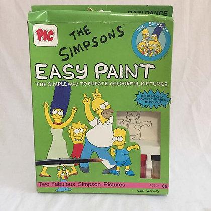 Simpsons Easy Paint Set, simpsons, collectibles toys, batman, pee wee herman, star wars, star trek, simpsons, super heroes