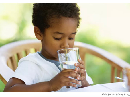 How Drinking Water Can Soothe Your Child's Anxiety