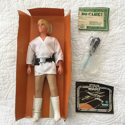 "STAR WARS 12"" LUKE SKYWALKER - NEAR MINT - 1979"