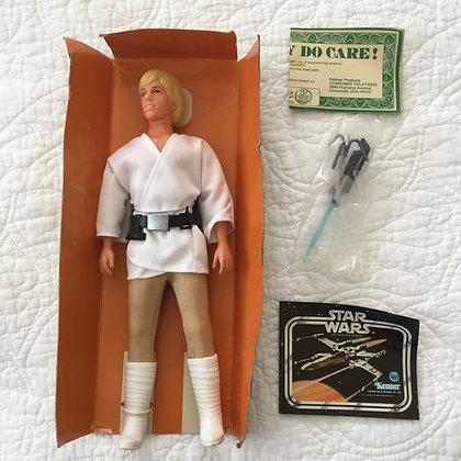 """STAR WARS 12"""" LUKE SKYWALKER - NEAR MINT - 1979"""