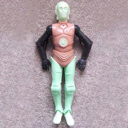 star wars 12' c3po prototype 1995, vintage, collectibles toys, batman, star wars, star trek, simpsons, super heroes,