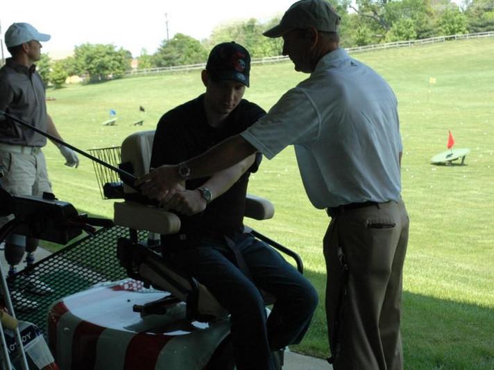 Salute Military Golf Association, Jim Estes Golf-PGA Golf Professional