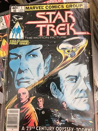 Star Trek #1 -Marvel - 1979