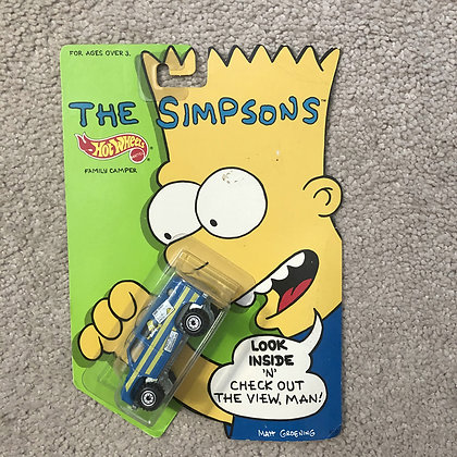 Simpsons - Hot Wheels Family Camper 1990 Mattel