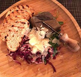 La Violetta Chicken-Pate-on-Crostini-Toa