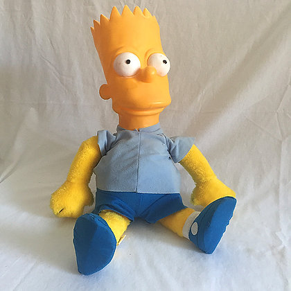 simpsons, bart simpson plush, collectibles toys, batman, pee wee herman, star wars, star trek, super heroes, weird