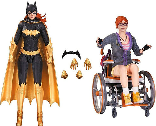 Batman Arkham Knight Oracle & Batgirl Action Figure 2-Pack
