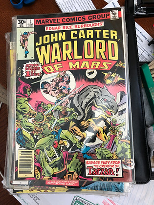 John Carter Warlord of Mars #1 - Marvel 1980