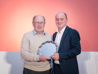 Top honour for Les