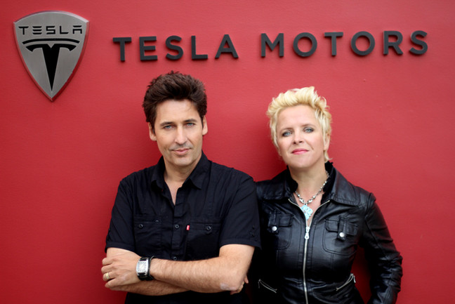Producing promotional content for TESLA in Los Angeles