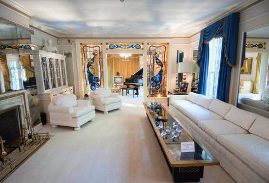 De woonkamer op Graceland