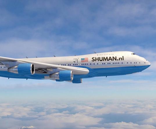Vliegtuig Shuman.nl