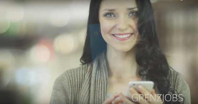 For the presentation of the Always-Online app Grenzjobs we created this multimedia production.