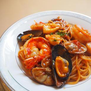 漁師風海鮮スパゲッティ