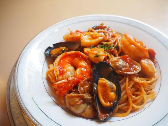 スパゲッティ 漁師風海鮮