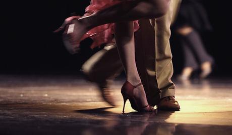 Pernas dança
