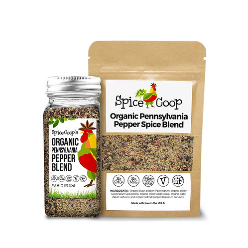 Organic Pennsylvania Pepper Blend Non-GMO