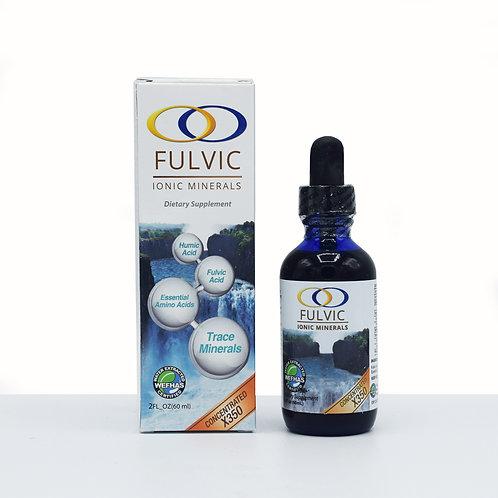 Fulvic Ionic Minerals x350 2oz.