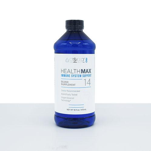 HealthMax 14 PPM Nano-Silver Supplement Immune Support 16oz