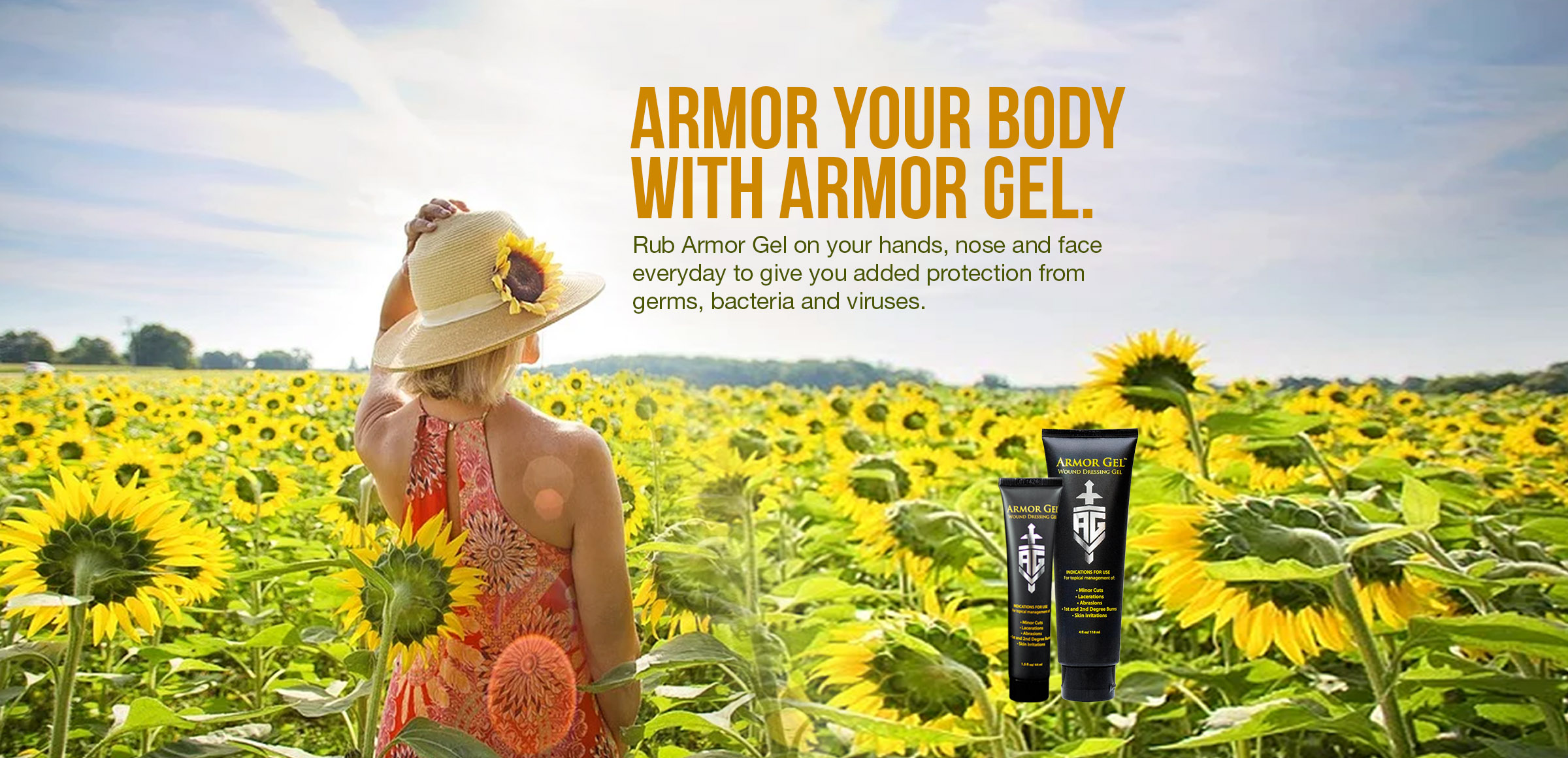 Armor Your Body with Armor Gel