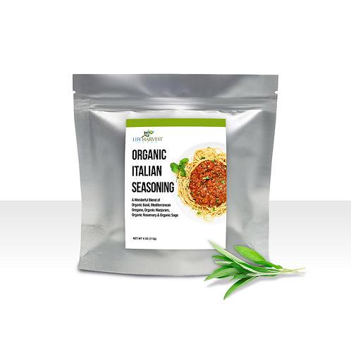 Organic Italian Seasoning 4oz in Resealable Mylar Bag