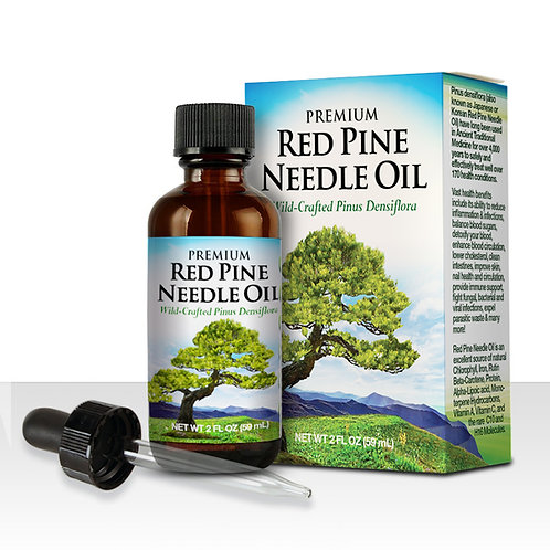 Red Pine Needle Oil (Pinus Densiflora) 2oz