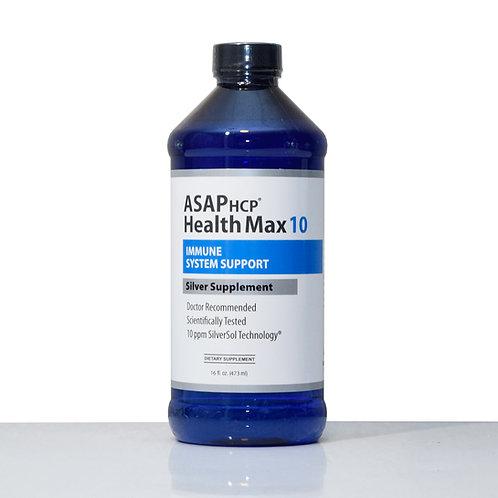 Health Max 10 PPM Nano-Silver Supplement Immune Support 16oz