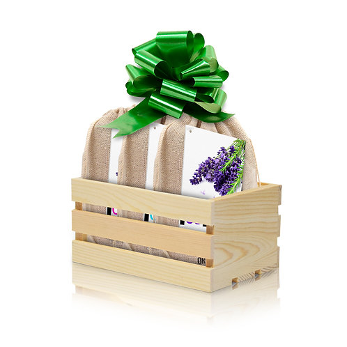 Organic Suds Co. Soap Crate 3-Bar Gift Set