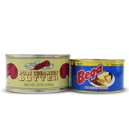 Canned Cheese & Butter Combo Pack for Long Term Food Storage