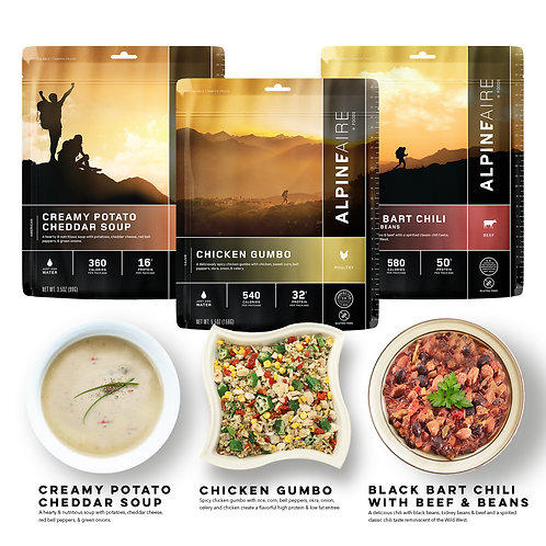 AlpineAire Foods Freeze-Dried Gluten Free Pack