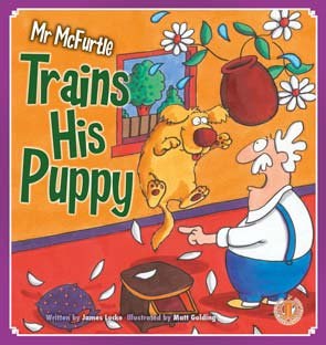 Mr McFurtle Trains His Puppy