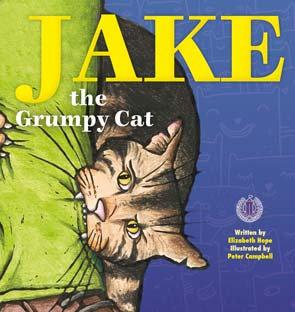 Jake the Grumpy Cat