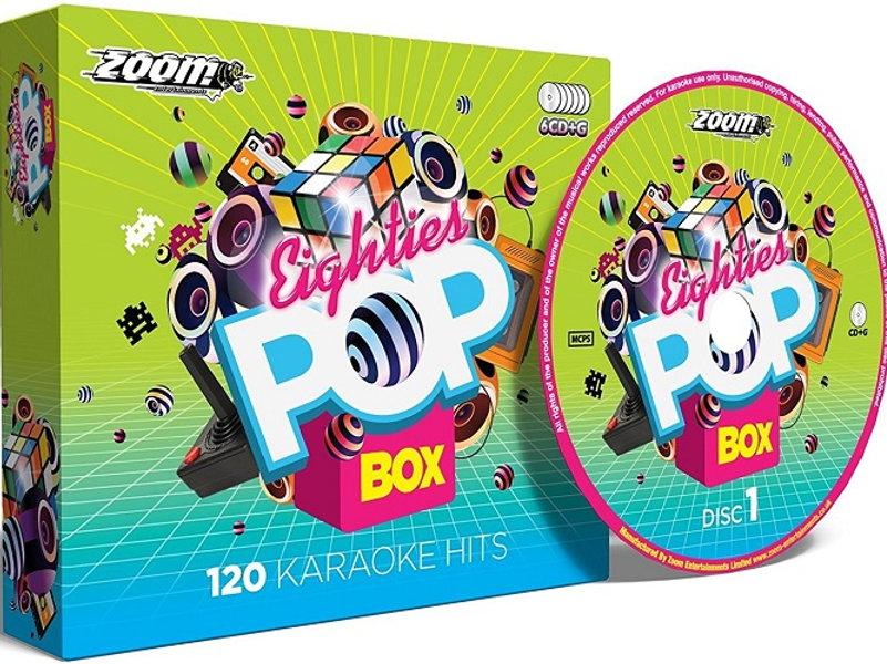 Zoom Karaoke Eighties Pop Box | kwcusa