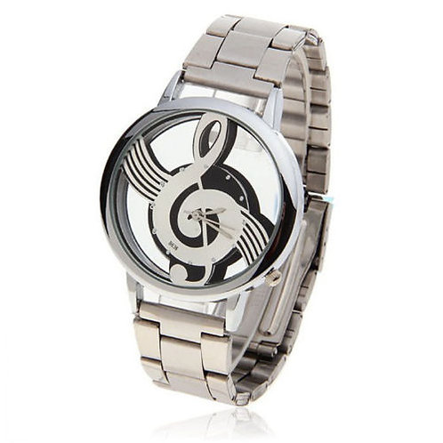 KWCUSA 2017 Treble Clef Music Watch-Metal