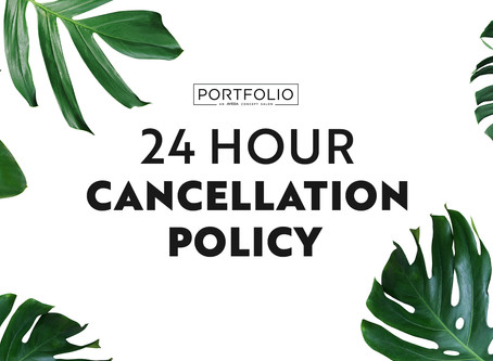 Updated Cancellation Policy