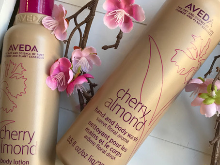 New Product Alert!  Cherry Almond Hand & Body Wash and Body Lotion