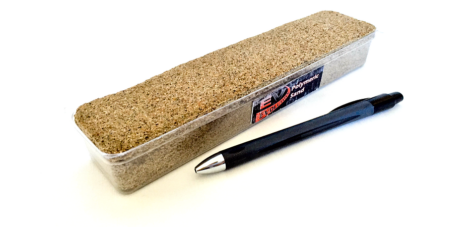 Evolution Polymeric Sand Sample Brick