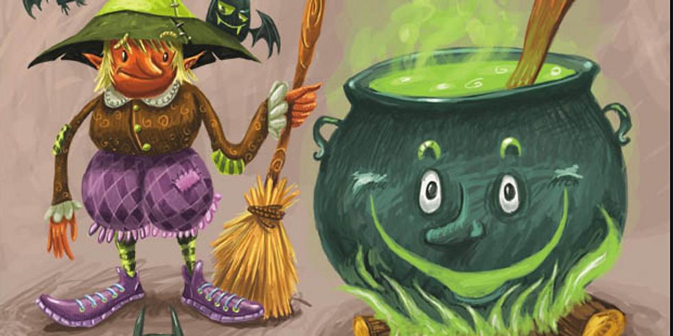 Création de jeu et goûter pour Halloween