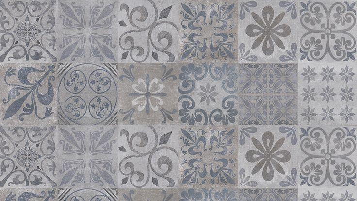 Carrelage imitation carreau ciment
