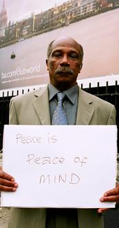 Peace is peace of mind.