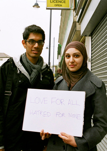 Love for all hatred for none.